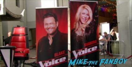 The Voice Season 4 premiere christina aguilera blake shelton usher red carpet premiere