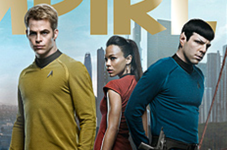 Empire Magazine Star Trek Into Darkness magazine cover chris pine jj abrams zachary quint zoe saldana hot rare promo