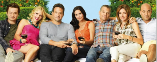 cougar town season 5 rare promo photo poster rare courteney cox rare