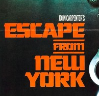 escape from new york logo Snake Plissken escape from new york movie poster promo rare one sheet movie poster kurt russell
