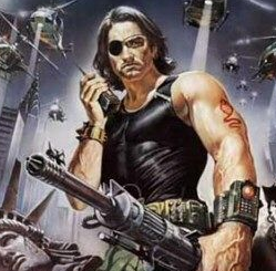 Snake Plissken escape from new york movie poster promo rare one sheet movie poster kurt russell