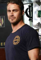 terry kinney Chicago Fire logo nbc series hot sexy shirtless men rare firefighters rare promo