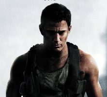 white house down rare one sheet movie poster rare promo hot sexy logo tag line channing tatum hot sexy muscle flex arms damn sexy