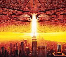 Independence Day ID4 rare promo movie poster one sheet rare hot will smith jeff goldblum rare