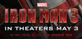 Iron man 3 one sheet movie poster promo tony stark robert downey Jr. logo rare tony stark