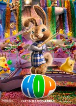 HOP rare movie poster logo easter bunny russell brand rare