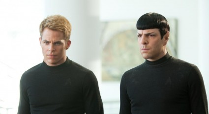 Chris Pine Zachary Quinto rare new hot StarTrekIntoDarkness-app-photo1