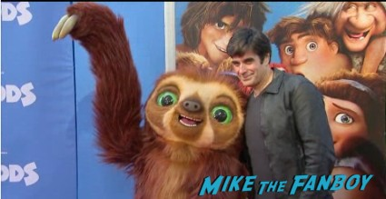 The croods movie premiere new york photo gallery red carpet 1