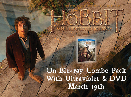 the hobbit rare promo movie poster blu ray cover art martin freeman hot rare dvd contest giveaway