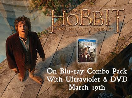 the hobbit rare promo movie poster blu ray cover art martin freeman hot rare dvd contest giveaway