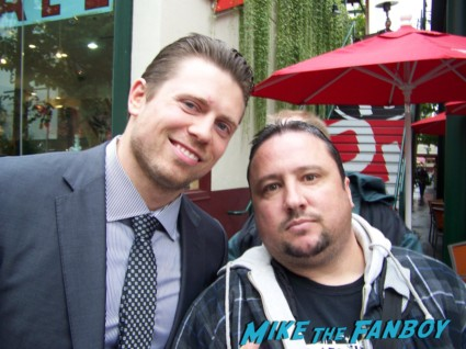 Mike Mizanian fan photo signing autographs for fans rare the miz wwe wrestler rare promo hot signed signature rare promo
