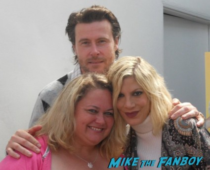 tori spelling fan photo signing autographs for fans rare promo 90210 star