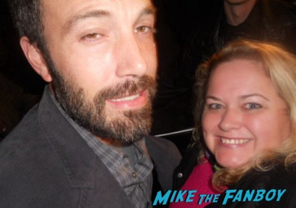Ben Affleck fan photo signing autographs for fans rare hot sexy rare promo