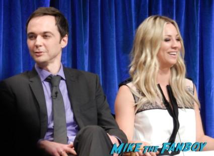 kaley cuoco at the Paleyfest 2013! The Big Bang Theory Panel! With Jim Parsons! Johnny Galecki! Kaley Cuoco! Simon Helberg! Kunal Nayyar! Mayim Bialik! Melissa Rauch! Autographs! Photos! More! big bang theory paleyfest 2013 signing autographs kaley cuoco 150