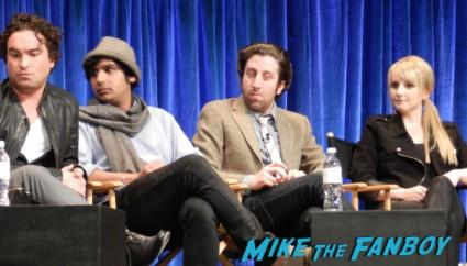melissa rouch at the Paleyfest 2013! The Big Bang Theory Panel! With Jim Parsons! Johnny Galecki! Kaley Cuoco! Simon Helberg! Kunal Nayyar! Mayim Bialik! Melissa Rauch! Autographs! Photos! More! big bang theory paleyfest 2013 signing autographs kaley cuoco 150