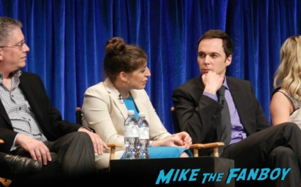 kaley cuocu at the Paleyfest 2013! The Big Bang Theory Panel! With Jim Parsons! Johnny Galecki! Kaley Cuoco! Simon Helberg! Kunal Nayyar! Mayim Bialik! Melissa Rauch! Autographs! Photos! More! big bang theory paleyfest 2013 signing autographs kaley cuoco 150
