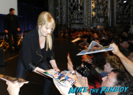 melissa rauch signing autographs big bang theory cast signed autograph emmy promo board game people lining up to rush the stage at paleyfest kaley cuoco at the Paleyfest 2013! The Big Bang Theory Panel! With Jim Parsons! Johnny Galecki! Kaley Cuoco! Simon Helberg! Kunal Nayyar! Mayim Bialik! Melissa Rauch! Autographs! Photos! More! big bang theory paleyfest 2013 signing autographs kaley cuoco 150