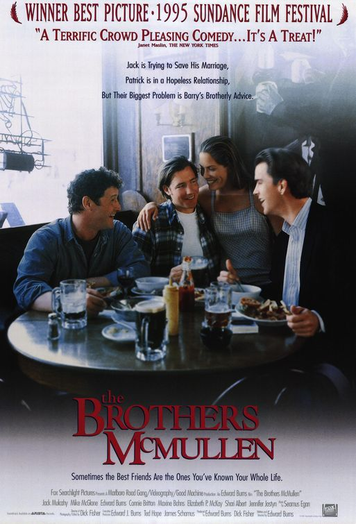 the brothers mcmullen rare promo one sheet movie poster promo edward burns hot