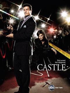 Castle season 4 rare promo poster nathan fillion hot sexy rare suit tie key art