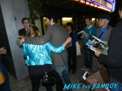 Jim Sturgess signing autographs for fans hot sexy rare sex photo fan photo rare promo hot sexy across the universe star