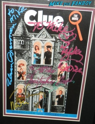 clue the movie signed autograph movie poster michael mckean tim curry lesley ann warren christopher lloyd signed autograph clue the movie poster 046 christopher lloyd signed autograph clue the movie poster 043clue the movie signed autograph movie poster michael mckean tim curry lesley ann warren christopher lloyd signed autograph clue the movie poster 046