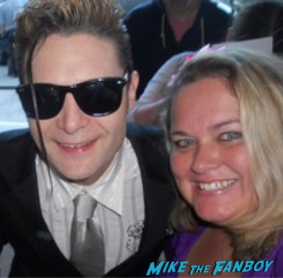corey feldman fan photo signing autographs for fans rare promo hot sexy stand by me star