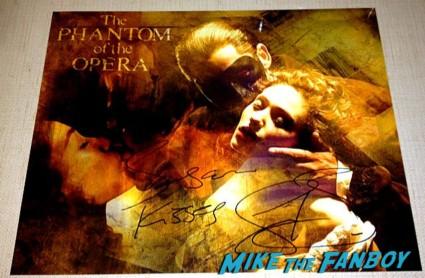 gerard butler signed autograph photo phantom of the opera rare