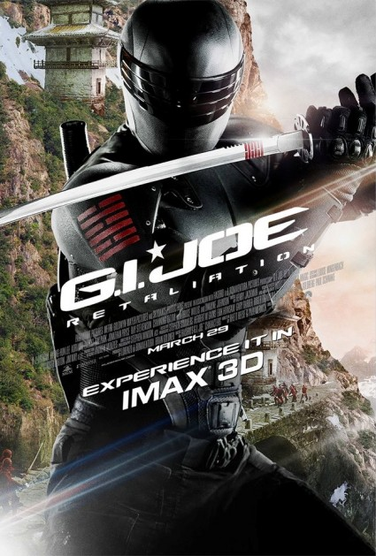Snake Eyes New IMAX Poster for 'G.I. Joe: Retaliation' featuring Snake Eyes!