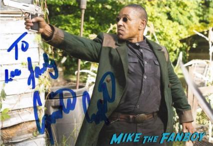 Giancarlo Esposito signed autograph photo revolution star hot rare promo photo