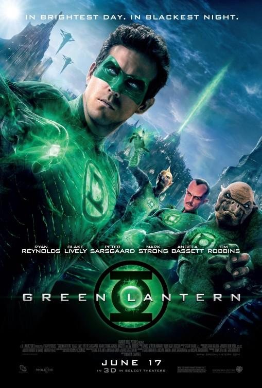 Green lantern movie promo poster one sheet rare teaser poster promo hot ryan reynolds rare promo hot poster teaser