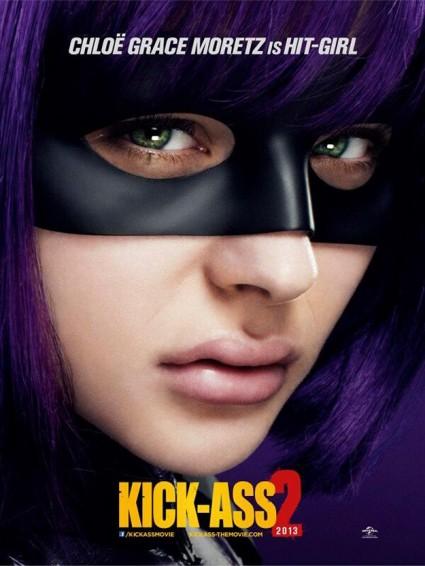 hit-girl-new-poster Chloë Grace Moretz kick ass 2 individual promo poster rare hot