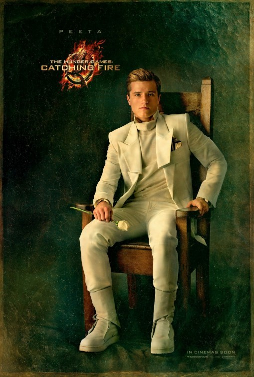 Josh Hutcherson hunger games catching fire capital city portrait movie poster promo rare hunger_games_catching_fire_ver14