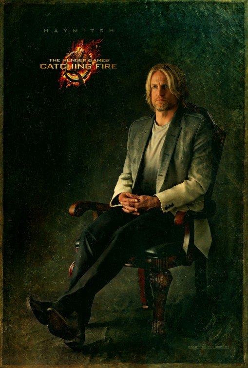 Woody Harrelson Haymich  capital portrait movie poster promo hunger_games_catching_fire_ver10