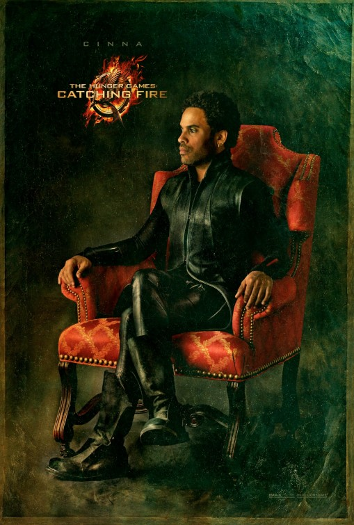 Lenny Kravitz Cinna  capital portrait movie poster promo hunger_games_catching_fire_ver10