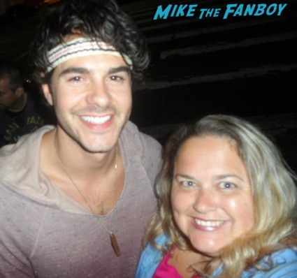 Jayson Blair fan photo signing autographs for fans rare promo paleyfest the new normal rare