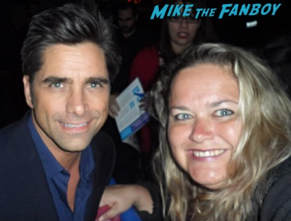 john_stamos fan photo signing autographs for fans rare promo paleyfest the new normal rare