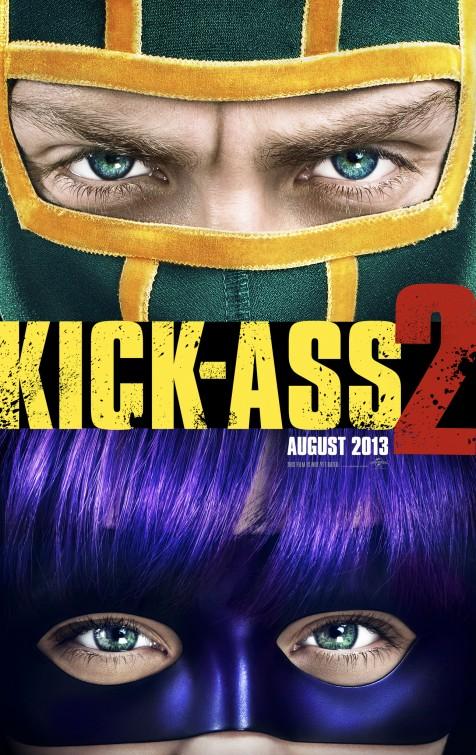 Kick ass 2 rare promo one sheet movie poster promo one sheet jim carry chloe grace moretz aaron johnson jim carrey