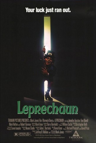 leprechaun rare promo movie poster one sheet warwick davis rare promo