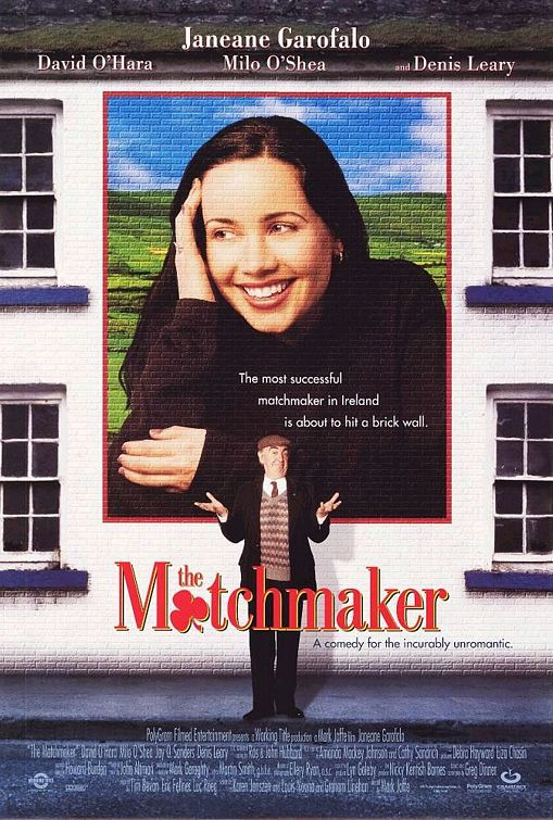 the matchmaker rare promo one sheet movie poster promo Janeane Garofalo