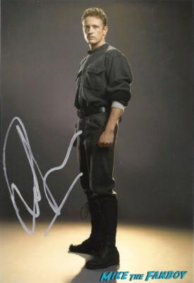 David Lyons signed autograph photo rare promo hot sexy revolution star rare promo