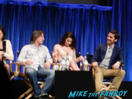 Colin O'Donoghue emile de raven robert carlyle at the once upon a time paleyfest 2013 panel ginnifer goodwin hot 024