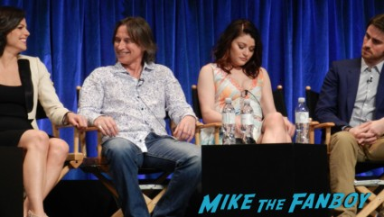 lana Parrilla  at the once upon a time paleyfest 2013 panel ginnifer goodwin hot 024