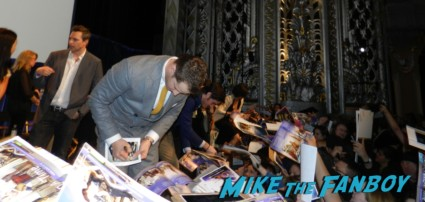 sexy josh dallas signing autographs for fans at the once upon a time paleyfest 2013 panel ginnifer goodwin hot 024