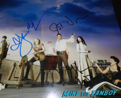 jennifer morrison josh dallas ginnifer goodwin signed autograph once upon a time hope individual promo mini poster rare
