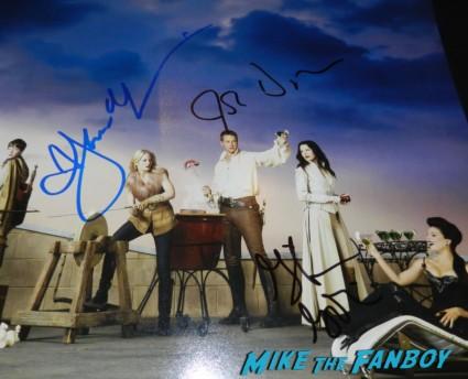 jennifer morrison josh dallas ginnifer goodwin signed autograph once upon a time hope individual promo mini poster rare
