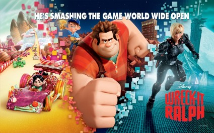 Wreck-It-Ralph-game video game rare promo Walt Disney's wreck it ralph title logo rare promo hot Wreck-it-Ralph-Games-coming-only-to-Nintendo-Consoles wreck-it-ralph-game-coming-from-activision-and-disney-interactive Wreck-It-Ralph-Characters-HD-Wallpaper_Vvallpaper.Net