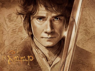 the-hobbit-bilbo-baggins-artwork-wallpapers_35444_1600x12001 the hobbit rare promo movie poster blu ray cover art martin freeman hot rare dvd contest giveaway
