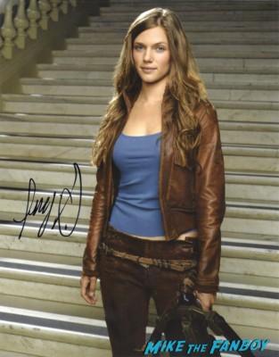 Tracy Spiridakos signed autograph photo rare hand signed hot sexy revolution star