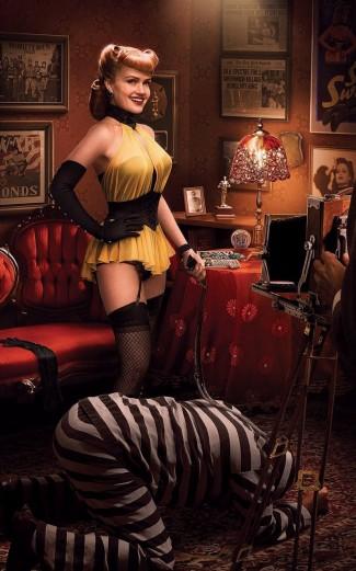 Carla Gugino Silk Spectre press promo photo hot sexy rare watchmen press promo photo still hot rare