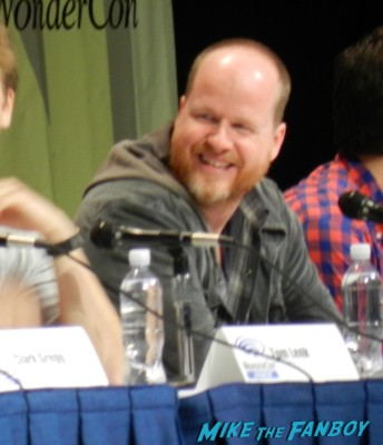 Much Ado about nothing wondercon panel joss whedon Nick Kocher, Clark Gregg, Jillian Morgese, Sean Maher, Romy Rosemont and Brian McElhaney, along with cinematographer Jay Hunter wondercon 2013 cosplay costumes convention floor rare 004